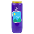 Novena candle with your image and text - customizable