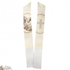 St Michael the Archangel embroidered priest stole