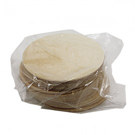 White wafers 6,5 cm pack of 25 pieces