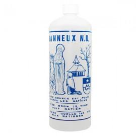Plastic bottle with Banneux water N.D - 1 L