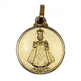 Little Jesus of Prague Medal