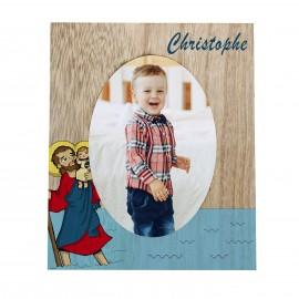 Photo frame with your Patron Saint - customizable