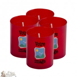 Nightlight candles in Saint Jude