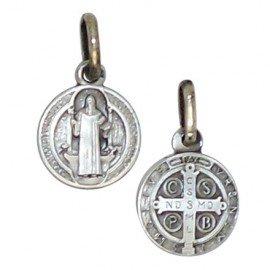 Medalla San Benito Plata 925