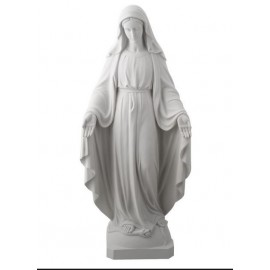 Miraculous Virgin Alabaster - Statue