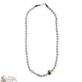 Necklace with crossstrasse pearls - customizable