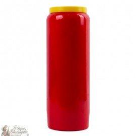 Candela rossa di Novena