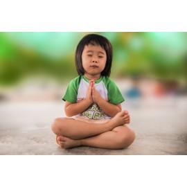 Poster Enfant prière