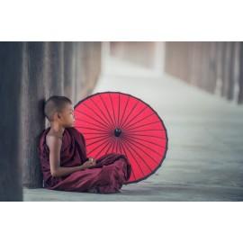 Poster Enfant Bouddhiste