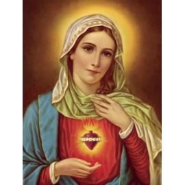 Poster Sacré Coeur de Marie